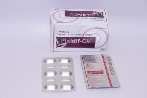Cefixime, Potassium Clavulanate Tablets