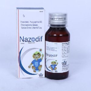 Paracetamol, Phenylephrine HCL, Chlorpheniramine Maleate Sodium Citrate and Menthol Suspension
