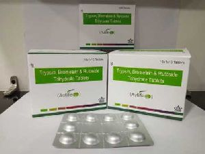 Trypsin, Bromelain and Rutoside Trihydrate Tablets