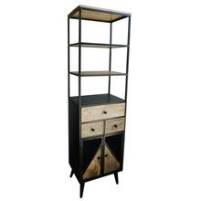 Iron Industrial Handcrafted Cabinet