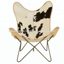 Leather Folding Butterfly Chair