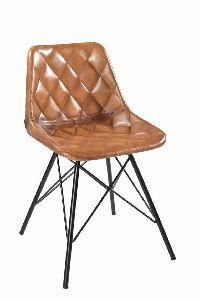 Leather upholstery Dining Chair
