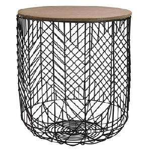 metal Cage storage Coffee table