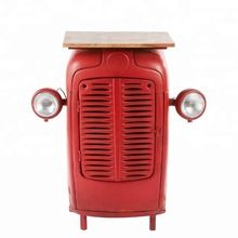 Tractor style Iron Bar Cabinet