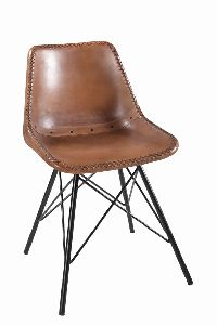 Upholstery Giron Iron Dining Chair