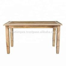 Wooden Embossed Dining Room Table