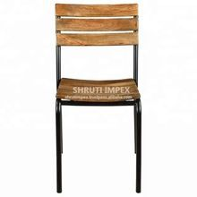 Wooden Seat Dining Chair