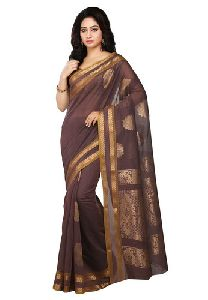 Butter Silk Plain Sarees