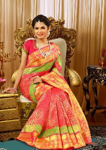 Pure Silk Plain Sarees