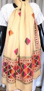 Silk Embroidered Dupatta
