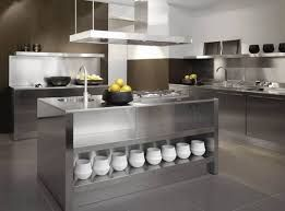 Stainless Steel Kitchen Interior Designing Service