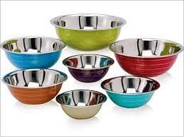 Stainless Steel Multicolor Bowl