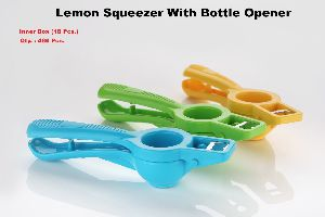 LEMON SQUEEZER WITH BOTTEL OPENER