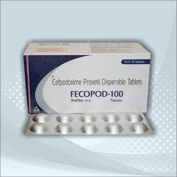 100mg Cefpodoxime Tablets