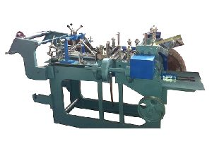 Small Size Paper Bag Making Machine