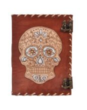 Day Of Dead Leather Journal Notebooks
