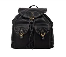 Leather Lady Backpack