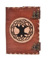 Tree Of Life Leather Journal Notebook