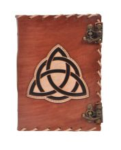 Triangle Leather Journal Notebook