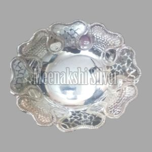 Silver Dish Plate 01