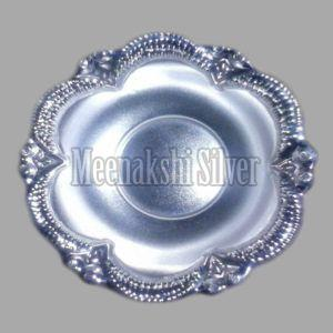 Silver Dish Plate 04