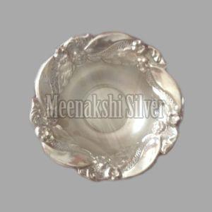 Silver Dish Plate 06