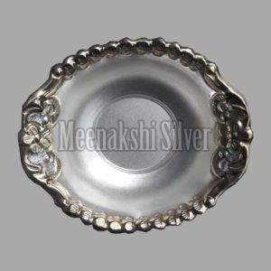 Silver Dish Plate 07