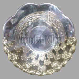 Silver Dish Plate 08