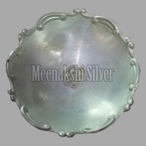 Silver Dish Plate 13