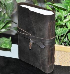 Brown Vintage Leather Cover Notebook