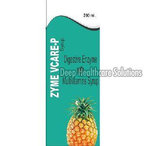 Zyme Vcare Digestive Enzyme Syrup