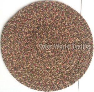 Cotton Round Braided Mat