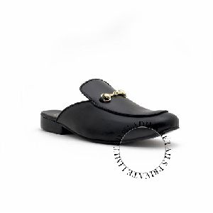 Black Color Genuine Leather Shoes