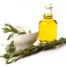 Pure organic rosemary essential oil