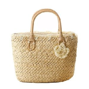 Sea Grass Hand Made Straw Tote Bags