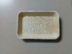 Areca Leaf Rectangle Tray