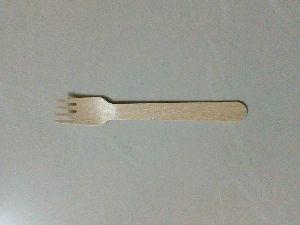Areca Leaf Wooden Fork