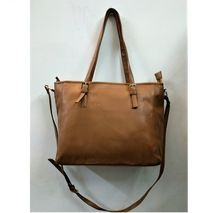 Brown PU leather women Bag