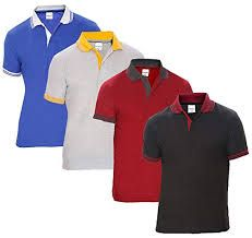 Men Collar T Shirt