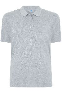 Men Grey Polo T-shirt
