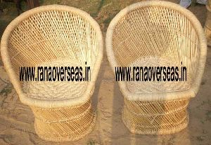 Bamboo Chair Set Table