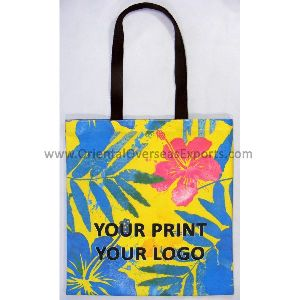Full Color Custom Printed Tote Bag made from 10 Oz Canvas