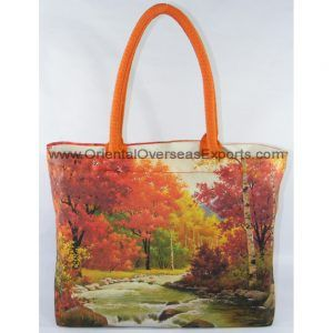 Full Color Printed Canvas Bag