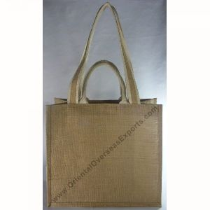 Jute Bag with double handles