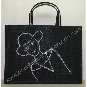 Jute Bag with Embroidery