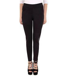 Ladies Black Ankle Length Pant