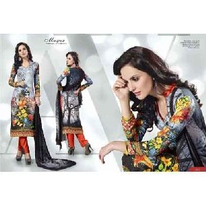 Ladies Digital Printed Suit