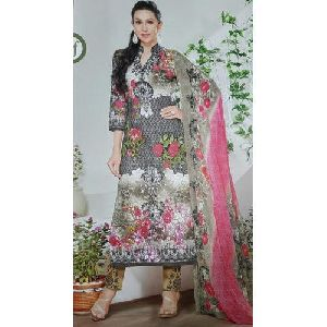 Ladies Printed Suit