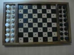 Chess Board with Chess men
