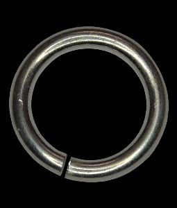 925 Silver 8mm Open Jump Ring, THICK Rings